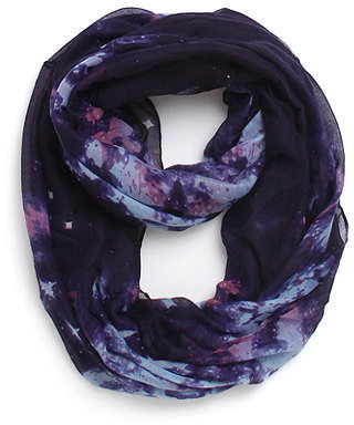 With Love From CA Cosmic Print Scarf