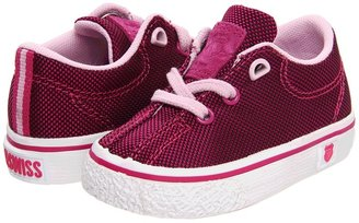 K-Swiss Clean Laguna T VNZ (Infant/Toddler) (Magenta/Pink Cloud Textile) - Footwear