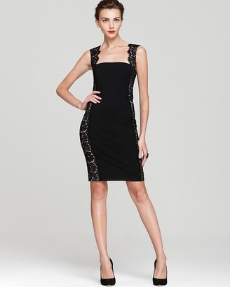 Aidan Mattox Dress - Lace Side Panels