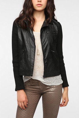 Urban Outfitters byCORPUS Army Moto Jacket