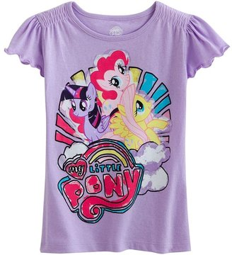 My Little Pony smocked tee - girls 4-6x