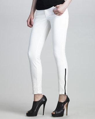 J Brand Jeans 6210 Corduroy Side-Zip Pants