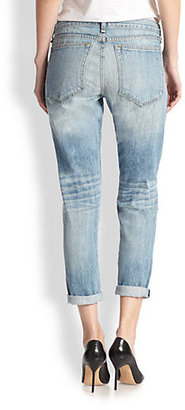Rag and Bone The Boyfriend Distressed Jeans