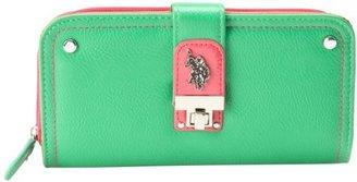 U.S. Polo Assn. Push Lock Zip Around Wallet