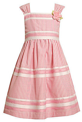 Bonnie Jean 2-6X Candy-Striped Seersucker Dress