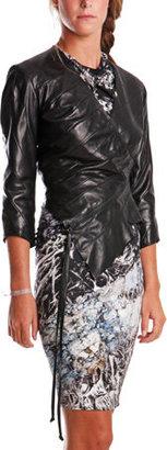 Aminaka Wilmont Multipanel Jacket in Black
