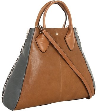Pour La Victoire Yves Medium Tote (Olive/Sapphire) - Bags and Luggage