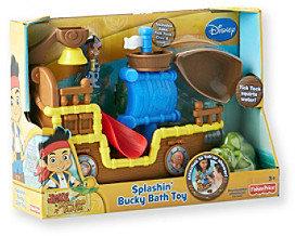Fisher-Price Jake The Pirate Splashin' Bucky Bath Boat