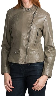 Marc New York @Model.CurrentBrand.Name Giselle Distressed Leather Jacket (For Women)