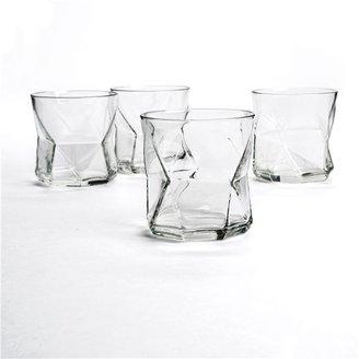 Bormioli Cassiopea Rocks Glasses - Set of 4