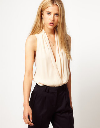 Asos Top With Sexy Cowl