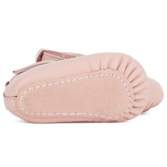 Chloe Vintage Pink Leather Ballet Pumps