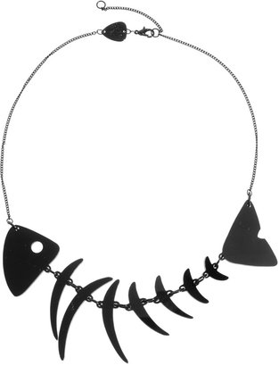Tatty Devine Fishbone Necklace