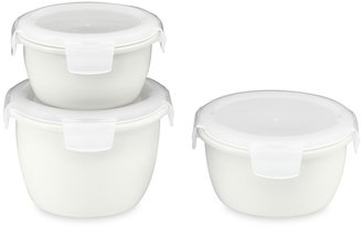 Williams-Sonoma Porcelain Round Storage Containers, Set of 3