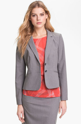 Halogen Tonal Texture Suiting Jacket