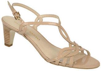 Franco Sarto Trixie Patent Leather Strappy Sandals