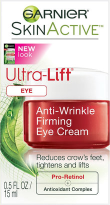 Garnier SkinActive Ultra-Lift Anti-Wrinkle Firming Eye Cream $14.99 thestylecure.com