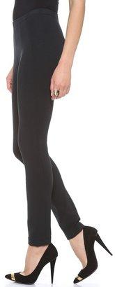 Donna Karan Seamed Leggings