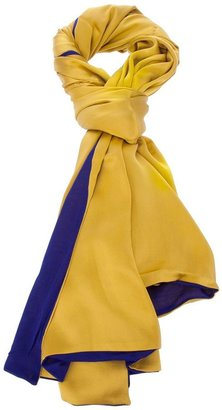 Pierre Louis Mascia Pierre-Louis Mascia two tone scarf