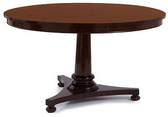 "Regency 54"" Round Center Table, Java"