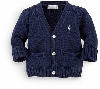 Ralph Lauren Childrenswear Boys' Combed Cotton Sweater - Baby $35 thestylecure.com