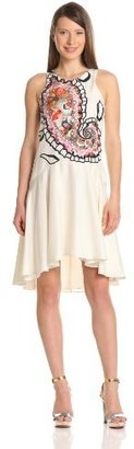Cynthia Rowley Women's Oversized Paisley Halter Dress