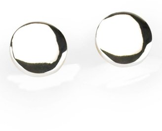 Liz Claiborne new york shiny button clip-on earrings