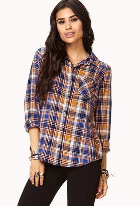 Forever 21 Favorite Plaid Shirt