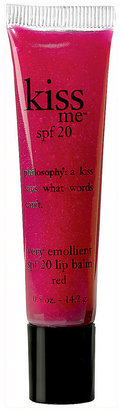 philosophy Kiss Me Red SPF Tube .5oz