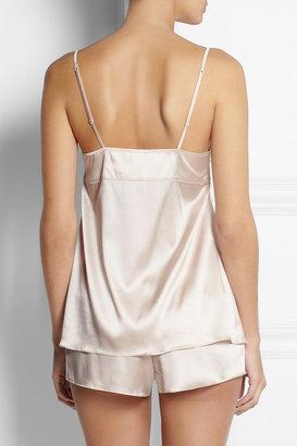 Elle Macpherson Intimates Medina lace-trimmed stretch-silk pajama set