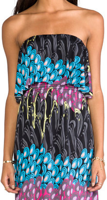 T-Bags LosAngeles Strapless Maxi Dress