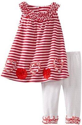Bonnie Jean Girls 2-6X Stripe Legging Set