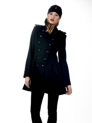 Torn By Ronny Kobo Rachel Military Coat