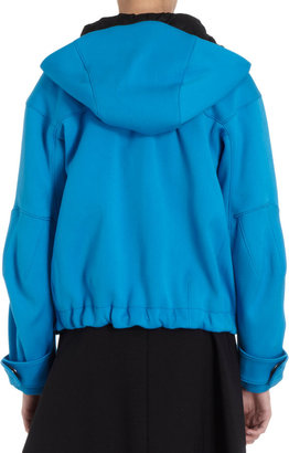 Proenza Schouler Hooded Blouson Jacket