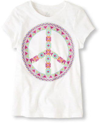 Children's Place Peace graphic tee