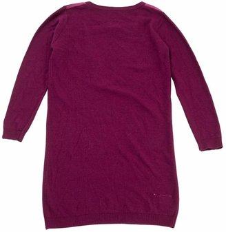 Maison Margiela Purple Wool Dresses