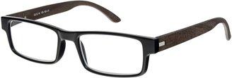 Magnif Eyes Unisex Ready Readers Oakland Glasses, Ebony