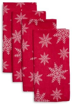Sur La Table Snowflake Jacquard Napkins, Set of 4