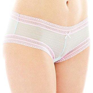 JCPenney Cosmopolitan Point D'Esprit Cheeky Panties