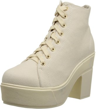 Chinese Laundry by Women's Campus Queen Canvas Combat Boot