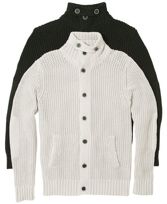 GUESS Sweater, Pocket Button Down Cardigan