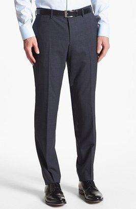 HUGO BOSS 'Huge/Genius' Trim Fit Plaid Suit