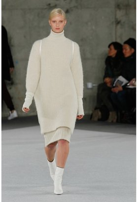 Edun Alpaca wool-blend skirt