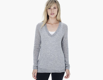 James Perse Lightweight Cashmere V-Neck