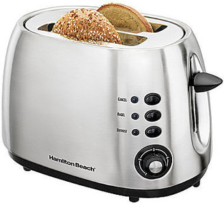 Hamilton Beach 2-Slice Brushed Metal Toaster