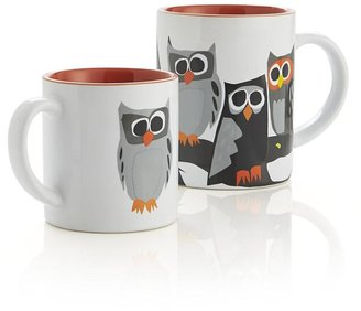 Crate & Barrel Owl Child's Mug
