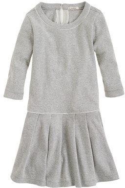 J.Crew Girls' pleated city tee dress