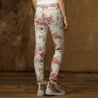 Denim & Supply Ralph Lauren Saba Floral Skinny Jean