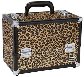 Ulta Caboodles Brown Cheetah Cosmetic Case
