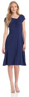 Jessica Howard Women's Knot Neck Fit ...